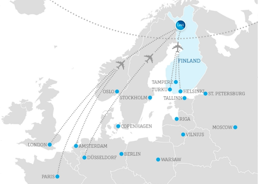 Levi, Lapland, Finland, How to get, Snowkite, Snowkiting, Aloha Snowkite
